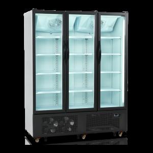 Armario expositor refrigerado puertas batientes FS1600H-P