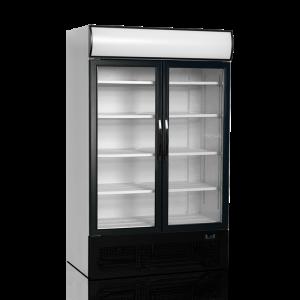 Armario expositor refrigerado puertas batientes FSC1200H-P